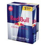 Pack Energético Red Bull 2 Latas 250ml Cada Leve Mais Pague Menos