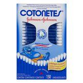 Hastes Flexíveis Cotonetes Johnson & Johnson Caixa 150 Unidades Embalagem Econômica