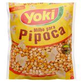 Milho para Pipoca Tadicional Yoki Pacote 500g