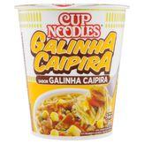 Macarrão Instantâneo Galinha Caipira Nissin Cup Noodles 69g
