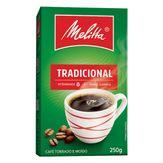 Café Torrado e Moído Tradicional Melitta Caixa 250g