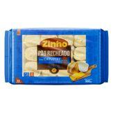 Pão de Alho Bolinha Recheio de Catupiry Zinho Pacote 300g