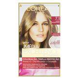 Coloração Creme 7.1 Louro Acinzentado Imédia Excellence L'oréal Paris