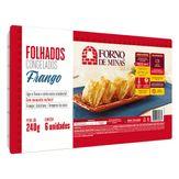 Folhado Congelado Frango Forno de Minas Caixa 240g
