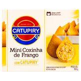 Mini Coxinha Frango com Catupiry Mini Salgados Caixa 300g