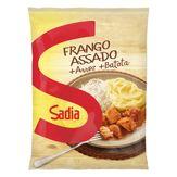 Frango Assado com Arroz e Batata Sadia Pacote 350g