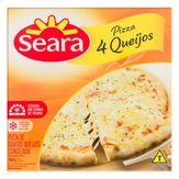 Pizza Congelada Quatro Queijos Seara Caixa 460g