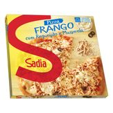 Pizza Congelada Frango com Requeijão e Mussarela Sadia Caixa 460g
