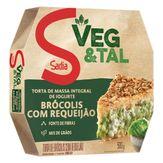 Torta de Brócolis com Requeijão Congelada Veg & Tal Sadia Caixa 500g
