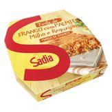 Torta de Frango, Palmito, Milho e Requeijão Congelada Sadia Caixa 500g