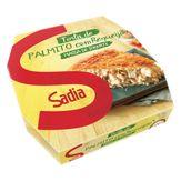 Torta de Palmito e Requeijão Congelada Sadia Caixa 500g
