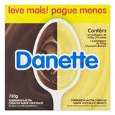 Sobremesa Láctea Chocolate e Chocolate Branco Danette Danone Bandeja 720g com 8 Unidades Leve Mais Pague Menos