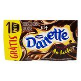 Pack Sobremesa Láctea Chocolate ao Leite Danette Danone Bandeja 720g com 8 Unidades Grátis 1 Unidade