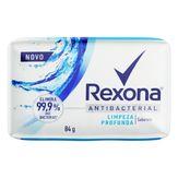 Sabonete em Barra Antibacterial Limpeza Profunda Rexona 84g