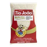Arroz Branco 100% Grãos Nobres Tio João Pacote 1kg