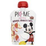 Purê de Frutas Morango, Framboesa e Maçã Mickey Mouse Pic-Me Pouch 90g