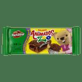 Bolinho de Brigadeiro com Recheio de Chocolate Animados Zoo Richester Pacote 40g
