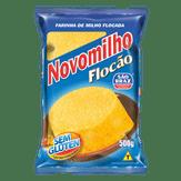 Farinha de Milho Flocão Novomilho Pacote 500g