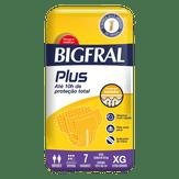 Fralda Descartável Adulto Plus XG Bigfral Pacote com 7 Unidades