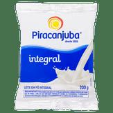 Leite em Pó Integral Piracanjuba Pacote 200g