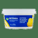 Manteiga de Primeira Qualidade com Sal Betânia Pote 200g