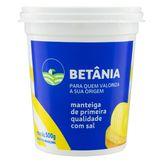 Manteiga de Primeira Qualidade com Sal Betânia Pote 500g