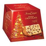 Panettone com Gotas de Chocolate Chocottone Santa Edwiges Premium Caixa 400g