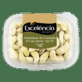 Amêndoas de Castanha de Caju Natural Excelência Selects Caixa 150g