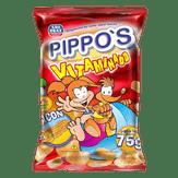 Salgadinho de Bacon Vitaminado Pippos São Braz Pacote 75g