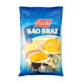Farinha de Milho Flocão Flocão São Braz Pacote 500g