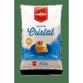 Açúcar Cristral Confiare Pacote 1kg