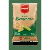 Açúcar Demerara Confiare Pacote 1kg