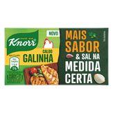 Caldo em Tablete Galinha Knorr Mais Sabor Caixa 57g 6 Unidades
