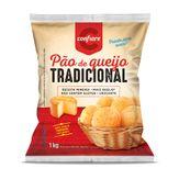 Pão de Queijo Tradicional Confiare Pacote 1kg