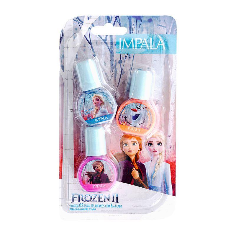 Kit-Esmalte-Disney-Frozen-II-Impala-Infantil-3-Unidades-6ml-Cada
