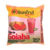 Polpa Congelada de Goiaba Brasfrut Pacote 100g