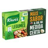 Caldo em Tablete Legumes Knorr Caixa 57g com 6 Unidades