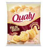 Pão de Queijo Amanteigado Tradicional Qualy Pacote 375g