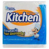 Guardanapo de Papel Ultramacio Super Absorvente! Kitchen Pacote 50 Unidades