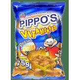 Salgadinho de Milho Queijo Pippo's Vitaminado São Braz Pacote 75g
