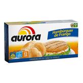 Hambúrguer de Frango Aurora Caixa 672g