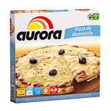 Pizza Congelada Mussarela Aurora Caixa 440g