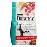 Alimento para Gatos Adultos Carne e Vegetais Balance Premium Especial Pouch 1kg