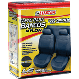 Capas para Bancos Nylon Jogo Completo Luxcar 1 Unidade