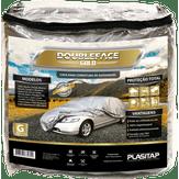 Capa para Cobertura de Automóvel Tamanho G Prata Double-face Gold Plasitap 1 Unidade