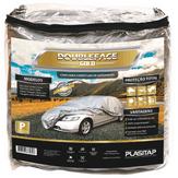 Capa para Cobertura de Automóvel Tamanho P Prata Double-face Gold Plasitap 1 Unidade