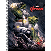 Caderno Universitário Avengers Sortido Tilibra 10 Matérias