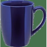 Caneca Cerâmica Azul 325ml 1 Unidade