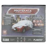 Capa para Cobertura de Automóvel Tamanho M Proteface Plasitap Pacote 1 Unidade