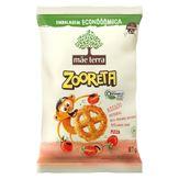 Salgadinho de Milho e Arroz Integral Orgânico Pizza Mãe Terra Zooreta Pacote 87g Embalagem Econômica